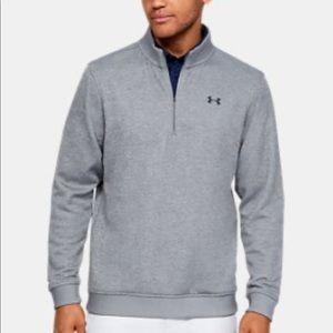 NWT Under Armour Sweaterfleece 1/4 Zip Pullover